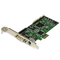 High-definition PCIe Capture Card - HDMI VGA DVI & Component - 1080P at 60 FPS