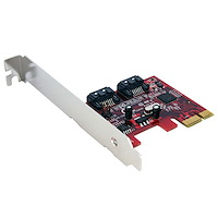 PCI Express Schnittstellenkarte SATA III - 2 Port PCIe Controller Card SATA3