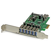 7 Port PCI Express USB 3.0 Karte