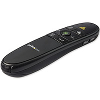 Wireless Presentation Remote with Green Laser Pointer - 90 ft. (27 m)