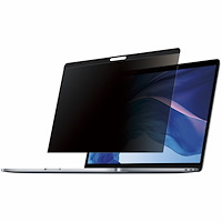 Laptop Privacy Screen for 15 inch MacBook Pro & MacBook Air - Magnetic Removable Security Filter - Blue Light Reducing Screen Protector 16:10 - Matte/Glossy - +/-30 Degree