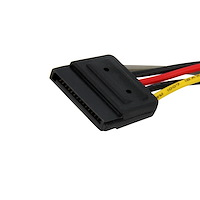 SATA to LP4 with 2x SATA Power Splitter Cable