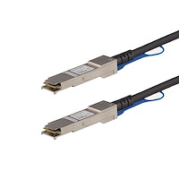 MSA Uncoded Compatible 0.5m 40G QSFP+ to QSFP+ Direct Attach Breakout Cable Twinax - 40 GbE QSFP+ Copper DAC 40 Gbps Low Power Passive Transceiver Module DAC