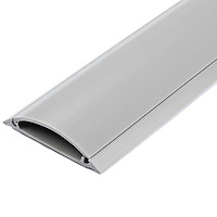 6 ft 2in Wide Grey Floor Cable Duct with Guard