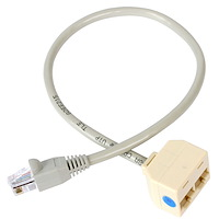 Gallery Image 1 for RJ45SPLITTER