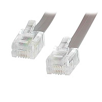 12 ft RJ11 Telephone Modem Cable