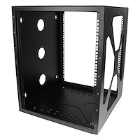 12U Sideways Wall-Mount Rack for Servers