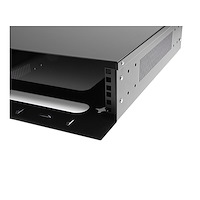 2U 19in Steel Horizontal Wall Mountable Server Rack