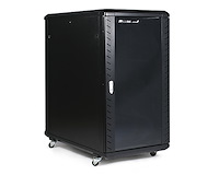 Refurbished 22U 36in Knock-Down Server Rack Cabinet with Casters