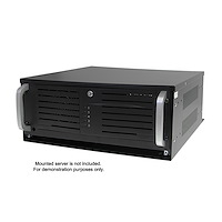 4U 19in Steel Horizontal Wall Mountable Server Rack