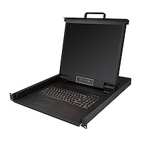 "1 port KVM Server Rack Console VGA - 19"" LCD 1280 x 1024 - 1U - US keyboard (QWERTY)"