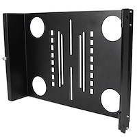 Universal Swivel VESA LCD Mounting Bracket for 19in Rack or Cabinet
