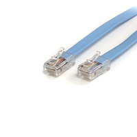 6 ft Cisco Console Rollover Cable - RJ45 Ethernet M/M