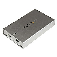 "2.5"" Aluminum USB 3.0 SATA III Hard Drive Enclosure w/ UASP - SSD/HDD Height up to 12.5mm"