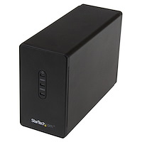 Dual-Bay 2.5in Hard Drive Enclosure - USB 3.0 to SATA III 6Gbps with RAID