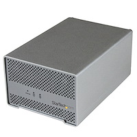 Dual-Bay Drive Enclosure for 2.5in SATA Drives - Thunderbolt