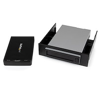 "Removable 2.5"" SATA HDD Enclosure/Backup System/Mobile Rack for 3.5/5.25"" Bay"