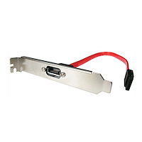 1 Port SATA to SATA Slot Plate Bracket