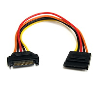 8in 15 pin SATA Power Extension Cable