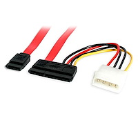 24in SATA Serial ATA Data and Power Combo Cable