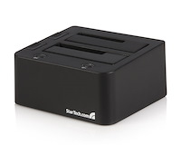 eSATA USB to SATA External HDD Dock for Dual 2.5 or 3.5in Hard Drive