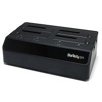 Station d'accueil USB 3.0 / eSATA pour 4 disques durs SATA de 2,5 / 3,5 pouces - Noir