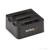 "USB 3.1 (10bps) dubbel harddisk docking station voor 2,5 en/of 3,5"" SATA SSD/HDD"