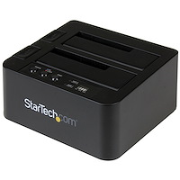 "USB 3.1 (10Gbps) Standalone Duplicator Dock for 2.5"" & 3.5"" SATA SSD/HDD Drives - with Fast-Speed Duplication up to 28GB/min"