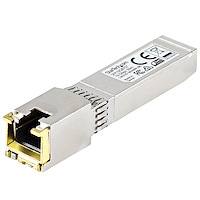 MSA Uncoded SFP+ Module - 10GBASE-T - SFP to RJ45 Cat6/Cat5e - 10GE Gigabit Ethernet SFP+ - RJ-45 30m
