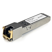 Cisco SFP-GE-T Compatible SFP Module - 1000BASE-T - SFP to RJ45 Cat6/Cat5e - 10/100/1000 Mbps - RJ-45 100m - Cisco IE3400, IE3300, IE3200