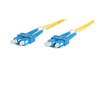 Fiber Optic Cable - Single-Mode Duplex 9/125 - LSZH - SC/SC - 2 m