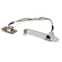 Adaptador Tarjeta de Red NIC Mini PCI Express PCI-e PCIe 1 Puerto Gigabit Ethernet RJ45