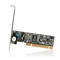 PCI Ethernet Network Card - 10/100 Mbps
