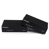 HDMI over CAT5 HDBaseT Extender - Power over Cable - IR - RS232 - 10/100 Ethernet - Ultra HD 4K - 330 ft (100m)