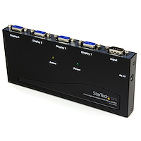 4 Port High Resolution 350 MHz Video Splitter