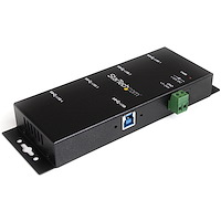 4-Port Industrial USB 3.0 Hub with ESD Protection