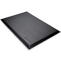 "Anti-Fatigue Mat for Standing Desk - Ergonomic Mat for Standing Desk - Large 24"" x 36"" Surface - Non-Slip - Cushioned Comfort Floor Pad for Sit Stand/Stand Up Office/Work Desk"