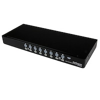 16 Port 1U Rackmount USB KVM Switch with OSD