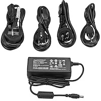 DC power adapter - 12V, 5A - voedingsadapter