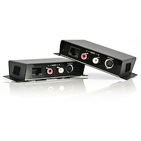 S-Video Video Extender over Cat 5 with Audio