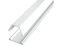 3 ft 2 Piece Cable Raceway Duct - White