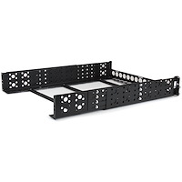 "2U Fixed 19"" Adjustable Depth Universal Server Rack Rails"