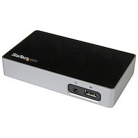 4K DisplayPort Docking Station for Laptops - USB 3.0