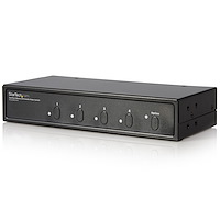 2x4 Port Matrix DVI Audio Video Switch