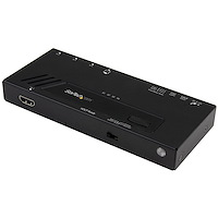 4-Port HDMI Automatic Video Switch - 4K with Fast Switching