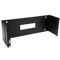 4U 19in Hinged Wall Mounting Bracket for Patch Panels